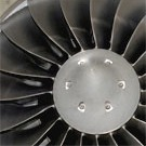Engine eines Business Jets